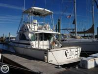For sale is a 1978 35 Bertram Convertible Sport Fisher.