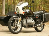 !1978 BMW R100/7 with Sidecar!Fork rebuilt - new seals
