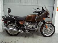 1978 BMW R100/7 metallic brown. This bike is in