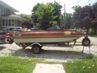 1978 Mercruiser, outboard, inboard. The engine is good.