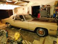 One owner bought new in Dallas TX. 1978 Cadillac