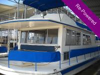 This is a Beautiful 1978, 57 Ft, Carlcraft House Boat.
