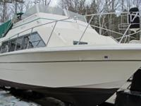 1978 carver mariner 33ft , with very large flybridge,