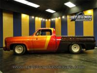 1978 Chevrolet C10 with a ton of custom touches.