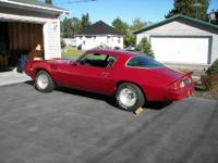 This is a 1978 camaro coupe in great condition,