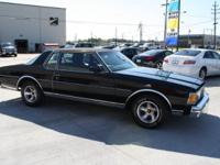 THIS 1978 CHEVROLET CAPRICE BLACK ON BLACK WONT LAST
