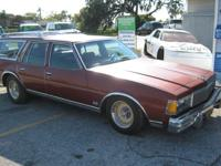 1978 CHEVROLET CAPRICE CLASSIC STATION WAGON ALL
