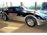 1978 Chevrolet Corvette Official Indy Pace Car. Not on