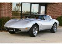 This spectacular, 25th Anniversary Corvette comes with
