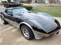 1978 Chevrolet Corvette L82 4 speed Special Edition