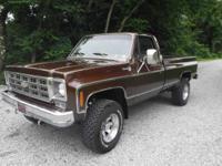 1978 Chevrolet Silverado K20 4x4, Mint condition 11K