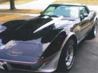 Year: 1978 Make: Chevy Model: Corvette Mileage: 12,762