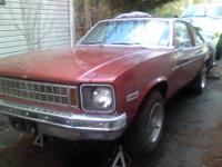 1978 Chevy nova started never finished no time or money