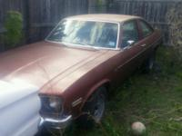 1978 chevy nova Project car Has some rust has been