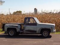 1978 chevy c 10 stepside. Great task vehicle. Demands