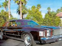 Year: 1978 Make: Chrysler Model: Cordoba Mileage: