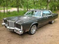 1978 Chrysler New Yorker Brougham 4 door sedan. 440 V8