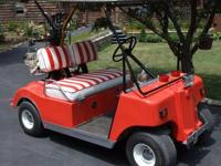 1978 Club Car 48vdc Electric Golf Cart 4 Sale New