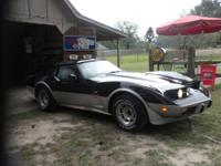 This is a 1978 Corvette Pace Car. I would like to sell