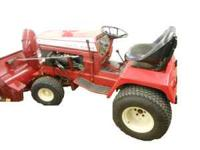 I have a 1978 D250 4 Cyl. Wheel Horse for sale in the