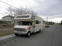 I am selling my 1978 Delta motorhome. This thing runs