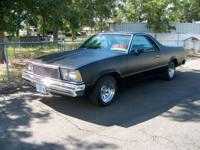 THIS IS A GOOD PROJECT CAR RE-BUILT 350 ENGINE AND