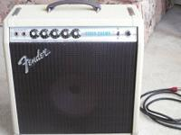 1978 Fender Vibro Champ amplifier. Specs:. Made In
