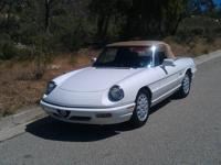 1978 Fiat Spider, Super special, new top, custom