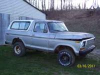1978 Ford Bronco hard top. $150. Pic shows hard top. NO