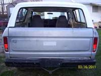 1978 Ford Bronco rear tailgate. In good shape but no