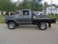 The Ranger series F-150 4 X 4 pickup has long been an