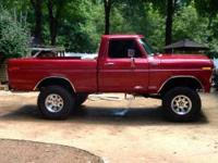 1978 Ford F150 in Excellent Condition Red Exterior,