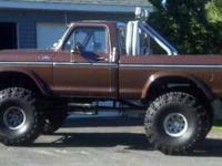 1978 Ford F150 Classic Truck 1978 F150 4x4 12 in lift