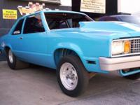 This 1978 Ford Fairmont Pro Street Car is established