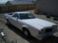 1978 white ford ranchero. New motor only has 600 miles