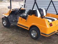 1978 harley davidson golf cart totally restored body
