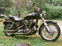 1978 Harley Davidson Shovelhead. This bike is powered