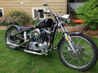 1978 Ironhead sportsterThis is a custom bike with a