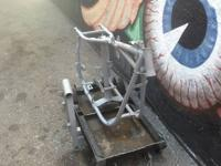 1978 HARLEY DAVIDSON SWING ARM FRAME COMES WITH SHOP