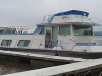 Your looking at a 43 foot 1978 Nauta Line Houseboat,