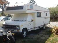 1978 holiday rambler 24', ford 460 v8 automatic. 95,586