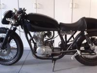 Highly modified 1978 Honda CB. Engine:200cc Motor: