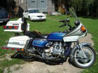 1978 HondaGL1000 Gold Wing ..Windjammer SS ..1,000 cc