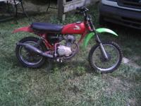 1978 Honda XR-75 vintage kids enduro dirt/trail
