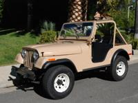 I'm selling my prize 1978 Cj5 after owning it since