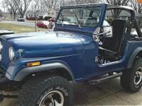 1978 Jeep CJ7 for sale (WI) - $10,900 True mileage