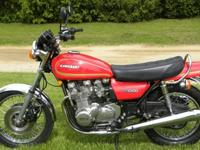 1978 kz1000A, runs great, shifts great, low miles, new