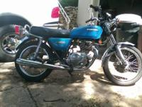 I have a 1978 Kawasaki KZ200 for sale. everything