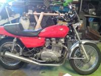 1978 Kawasaki KZ750 like new runs great starts right up