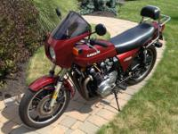 It has constantly been garage kept!!!! This bike has